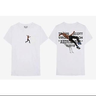 オフホワイト(OFF-WHITE)のTravis scott Tシャツ 希少(Tシャツ/カットソー(半袖/袖なし))