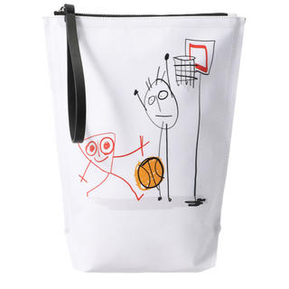 plan c バスケットボール クラッチバッグ