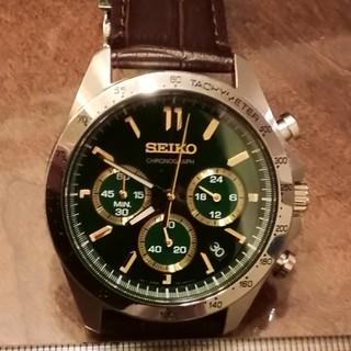 SEIKO - セイコー腕時計 クロノグラフ クォーツ グリーン文字盤