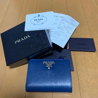 プラダ(PRADA)のPRADA プラダ 折りたたみ財布 財布(財布)