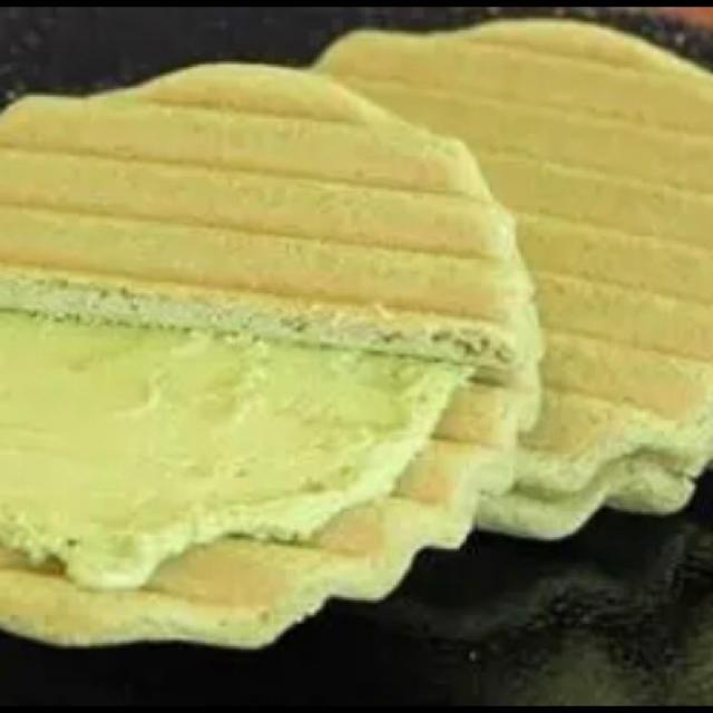 お菓子 和菓子 抹茶ヴァッフェル(抹茶生地) 食品/飲料/酒の食品(菓子/デザート)の商品写真