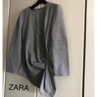 ZARA - アシンメトリートップス
