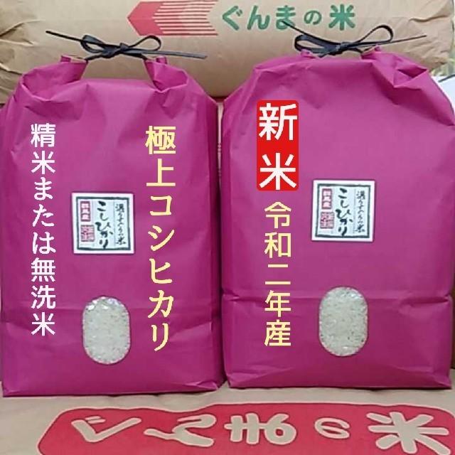 新米!極上コシヒカリ!精米or無洗米 食品/飲料/酒の食品(米/穀物)の商品写真
