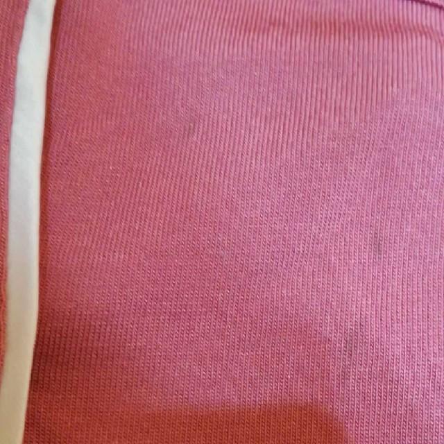GU(ジーユー)のgu カットソーパジャマ ピンク M レディースのルームウェア/パジャマ(パジャマ)の商品写真
