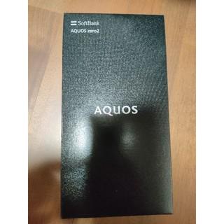 AQUOS - Softbank AQUOS zero2 906sh アストロブラック 判定◎