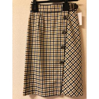 Apuweiser-riche - 【Apuweiser-riche】チェックタイトスカート