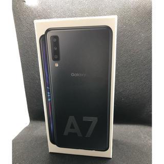 Galaxy - 【新品】楽天モバイルGALAXY A7 ブラック