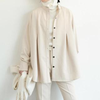 Aunt Marie's - 【新品】タックバンドカラーシャツジャケット