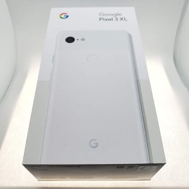 ANDROID(アンドロイド)のGoogle Pixel 3 XL ホワイト SIMロック解除済 スマホ/家電/カメラのスマートフォン/携帯電話(スマートフォン本体)の商品写真