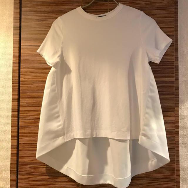 BARNEYS NEW YORK(バーニーズニューヨーク)のyokochan カットソーペプラム  レディースのトップス(Tシャツ(半袖/袖なし))の商品写真