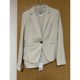エイチアンドエム(H&M)の【限定セール】スーツ ベージュ セットアップ(スーツ)