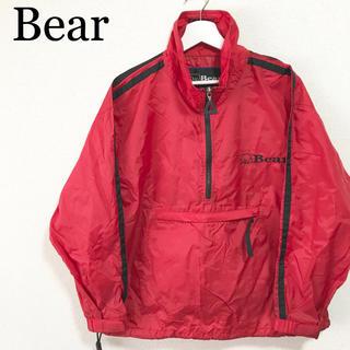 ベアー(Bear USA)の90s Bear ベアー アノラックパーカー メンズS ナイロンパーカー 古着(ナイロンジャケット)