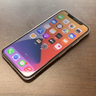 iPhone - SIMフリー iPhoneX 64GB シルバー 難あり