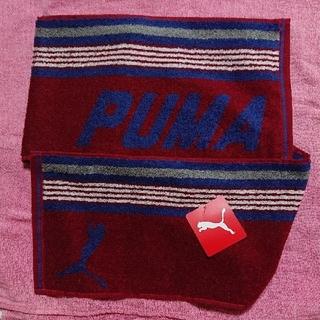 プーマ(PUMA)のPUMA プーマ  ロングタオル 赤1枚(タオル/バス用品)