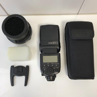 キヤノン(Canon)のCanon 580EXⅡ  ハニカムグリッド ディフェーザー オマケ(ストロボ/照明)