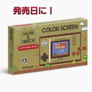 任天堂 - 【発売日に到着予定!】ゲームウォッチ ニンテンドー Nintendo
