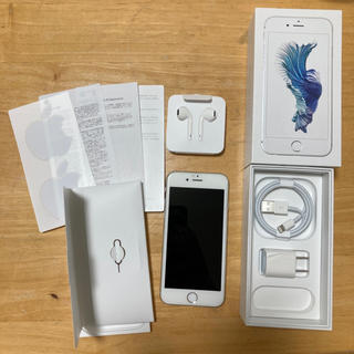 iPhone - iPhone 6s Silver 64 GB SIMフリー