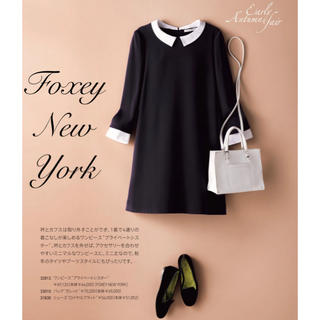 FOXEY - FOXEY NEW YORK♡ 白襟ワンピース