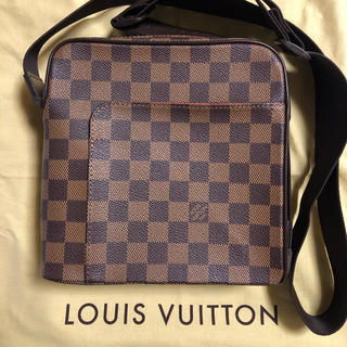 LOUIS VUITTON - ルイヴィトン ダミエ オラフPM 未使用