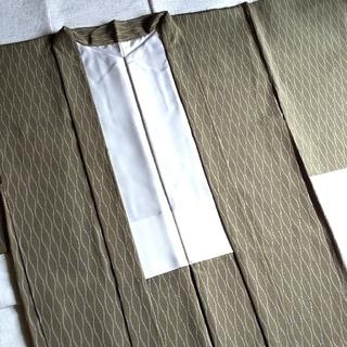 トールサイズ 長羽織 裄69cm  丹後ちりめん 鹿子立涌柄  余り布付き(着物)