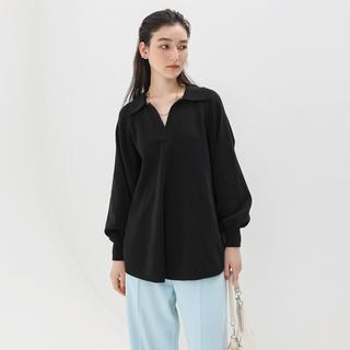 SeaRoomlynn - シールームリン searoomlynn リネンコンビミディアムニットシャツ