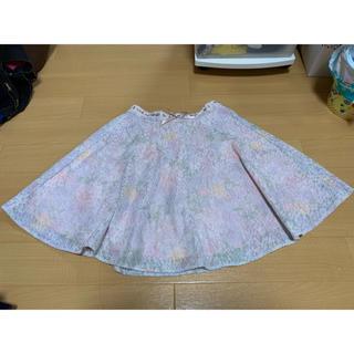 アクシーズファム(axes femme)のレーススカート(ミニスカート)