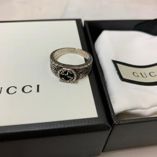 Gucci - GUCCI インターロッキング シルバーリング