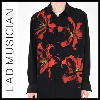 ラッドミュージシャン(LAD MUSICIAN)のLAD MUSICIAN 18ss Lily Big Shirt フラワーシャツ(シャツ)