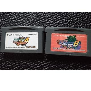ゲームボーイアドバンス(ゲームボーイアドバンス)のGBA ゲームボーイアドバンス ロックマンエグゼソフト(携帯用ゲームソフト)