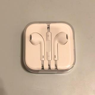 アイフォーン(iPhone)のiPhone イヤホン 純正 新品未使用(ヘッドフォン/イヤフォン)