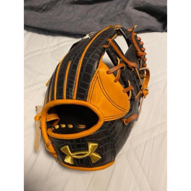 UNDER ARMOUR(アンダーアーマー)のアンダーアーマー  クロコダイル 軟式グローブ スポーツ/アウトドアの野球(グローブ)の商品写真