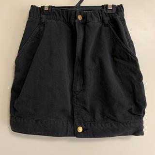 メルシーボークー(mercibeaucoup)の【年末処分】mercibeaucoup, 黒 スカート(ひざ丈スカート)