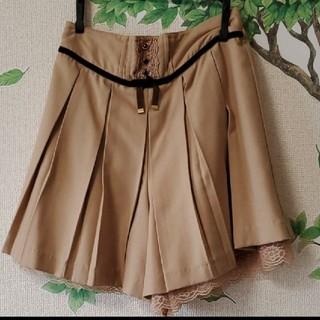 アクシーズファム(axes femme)のキュロットスカート ショートパンツ(ミニスカート)