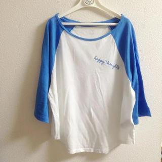 ギャップ(GAP)のGAP ラグランスリーブ  カットソー Tシャツ アメリカンイーグル(Tシャツ(長袖/七分))
