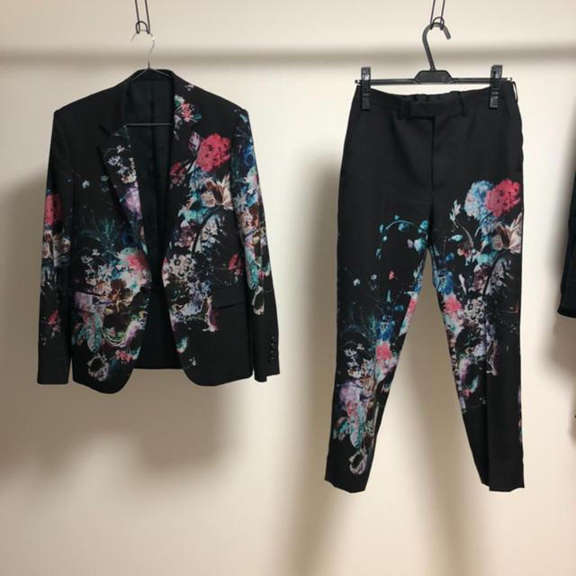 LAD MUSICIAN(ラッドミュージシャン)のlad musician セットアップ 花柄 メンズのスーツ(セットアップ)の商品写真