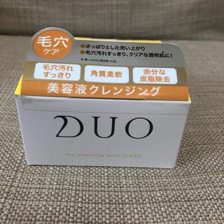 DUO(デュオ) ザ クレンジングバーム クリア(90g)(クレンジング/メイク落とし)
