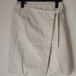 ツモリチサト(TSUMORI CHISATO)のツモリチサト 巻きスカート 未使用(ひざ丈スカート)