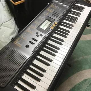 カシオ(CASIO)のカシオ 電子ピアノ光ナビキーボード LK-113 61鍵盤(電子ピアノ)