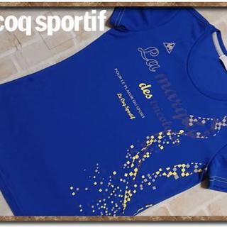 ルコックスポルティフ(le coq sportif)のルコック プリントTシャツ 青(Tシャツ(半袖/袖なし))