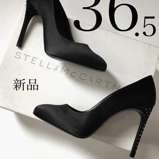 ステラマッカートニー(Stella McCartney)の新品/36.5 ステラ マッカートニー ラインストーン サテン パンプス(ハイヒール/パンプス)