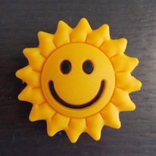 【新品・未使用】振動止め 1個 太陽 黄 かわいい 複数組みあわせOK!T03(その他)