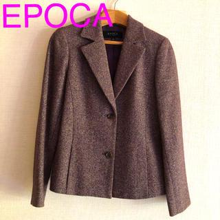 エポカ(EPOCA)のエポカ EPOCA  ツィードジャケット Mサイズ(テーラードジャケット)