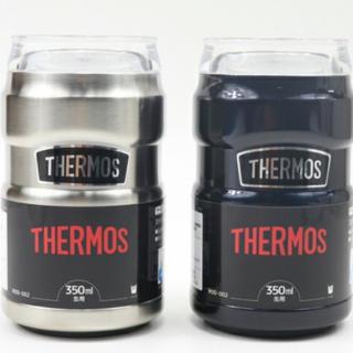 サーモス(THERMOS)の早い者勝ち!ベストセラー!サーモス保冷缶ホルダー350ml2個セット!(タンブラー)