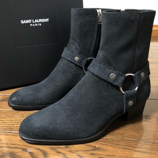 Saint Laurent - 【新品未使用】Saint laurent wyatt40 リングブーツ 41