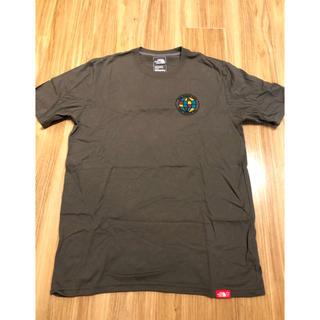 ザノースフェイス(THE NORTH FACE)のthe north face Tシャツ ダークカーキ Mサイズ(Tシャツ/カットソー(半袖/袖なし))