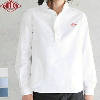DANTON - ダントン 丸襟プルオーバーシャツ 美品