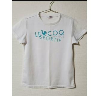 ルコックスポルティフ(le coq sportif)のle coq sportif Tシャツ M 白(Tシャツ(半袖/袖なし))