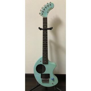 フェルナンデス(Fernandes)の<値下げしました>ZO-3 アンプ内蔵ミニギター ライトブルー ぞーさん(エレキギター)