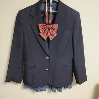 制服 ブレザーとスカートとリボンのセット
