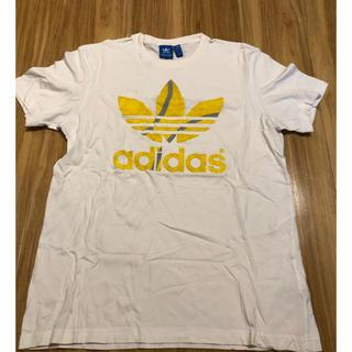 アディダス(adidas)のadidas Tシャツ ホワイト Japan Oサイズ(Tシャツ/カットソー(半袖/袖なし))